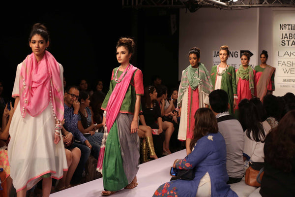 Shovit Dasgupta, Durba Nag and Sharan Kaur also unveiled their collection 'NOTLIKEYOU' at LFW