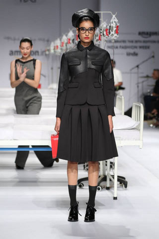 Rajesh Pratap's Jacket and Skirt Set at AIFW
