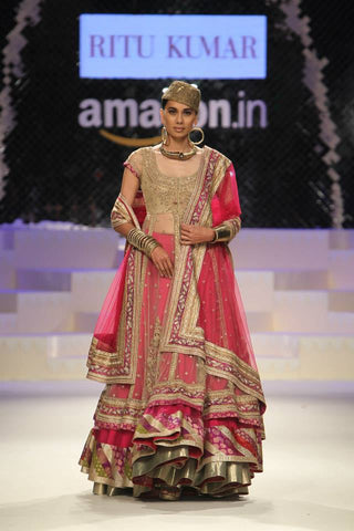 Ritu Kumar's Imperial Lehenga Set at AIFW