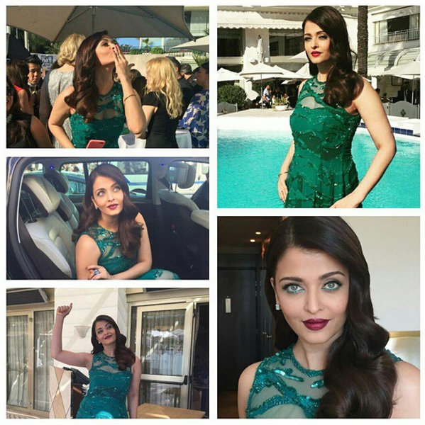 Aishwarya Rai Bachchan on Red Carpet Cannes 2015