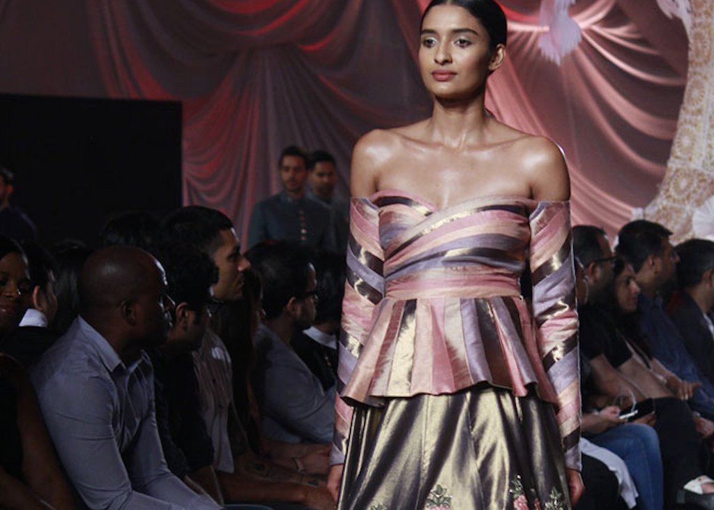 Manish Malhota Off the Shoulder