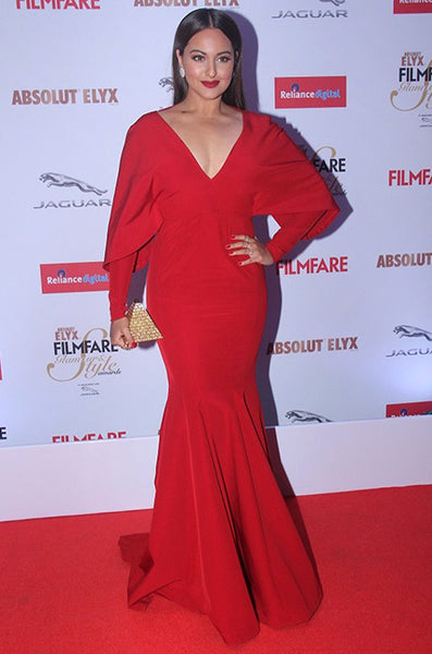 Sonakshi Sinha at the Filmfare Glamour and Style Awards 2015