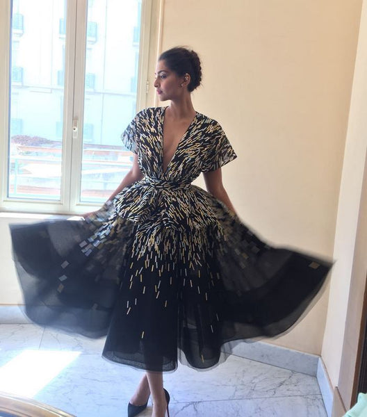 Sonam Kapoor in Ralph & Russo at Cannes 2016