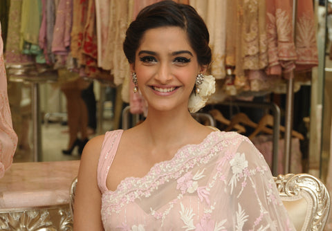 Sonam Kapoor is a saree fan
