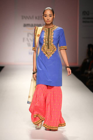 Tanvi Kedia's Kurta-Sharara Set at AIFW
