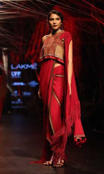 Tarun Tahiliani Saree