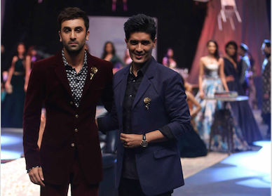 Ranbhir Kapoor closes Lakme Fashion Week A/W 2015 for Manish Malhotra