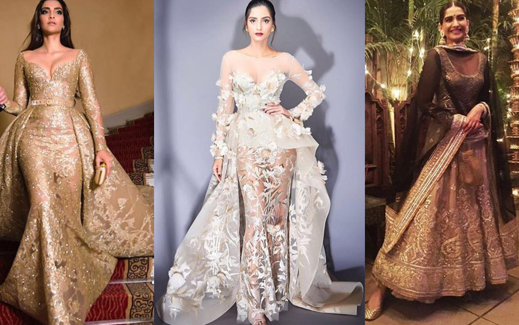We Predict One Of These Designers Will Dress Sonam Kapoor For Her Wedding!