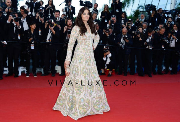 Aishwarya Rai at Cannes in Abu Jani & Sandeep Khosla