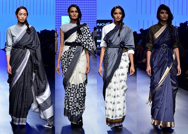 LAKME FASHION WEEK SUMMER/RESORT 2018 REDEFINES THE FUTURE OF SAREES