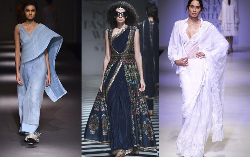 7 WAYS TO WEAR A SAREE: AIFW