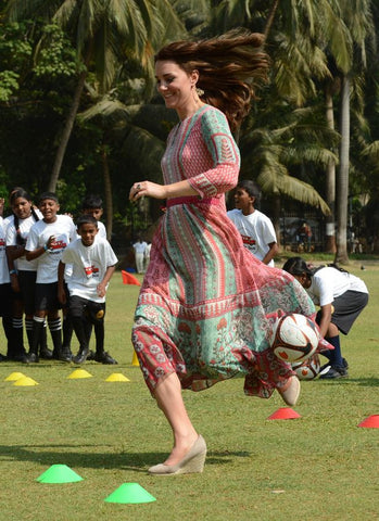 Kate runs in the Anita Dongre Tunic