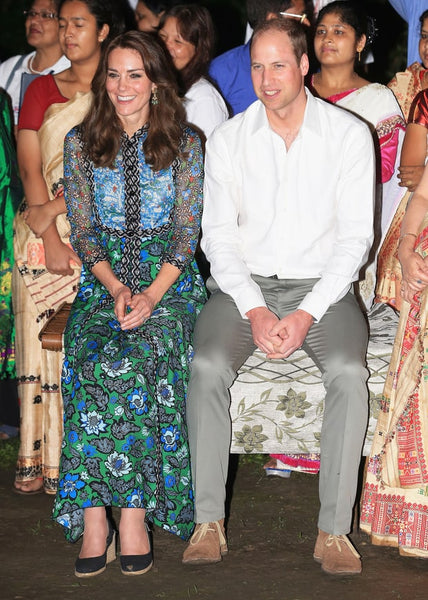 Kate Middleton in Anna Sui