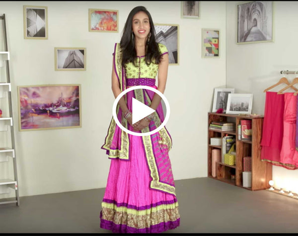 how to drape a saree 6 ways