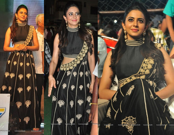 Rakul Preet in New Collection Reeti Arneja
