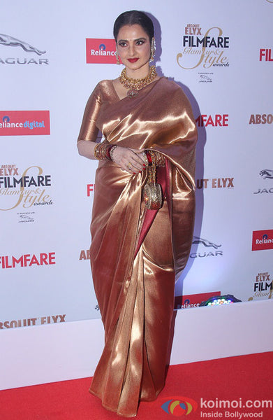 Rekha at the Filmfare Glamour and Style Awards 2015