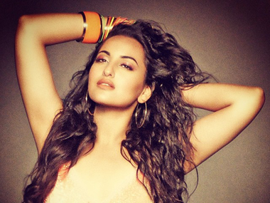 Bollywood beauty Sonakshi Sinha