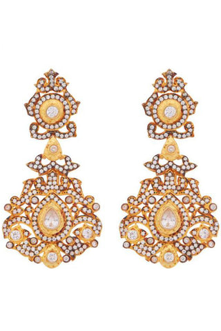 Gold Victoriana Earrings