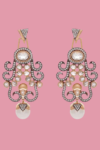 Pearl Asiana Earrings