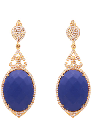 Blue Turkish Delight Earrings