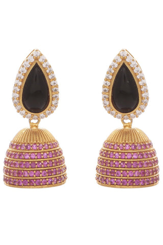 Black Taji Earrings