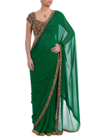 The Malaika Arora Jewelled Saree
