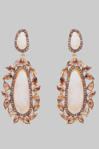 White Anita Earrings