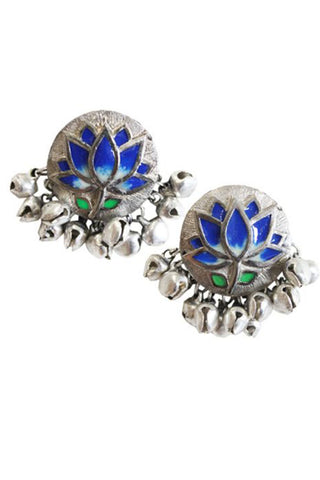 Blue Lotus Stud