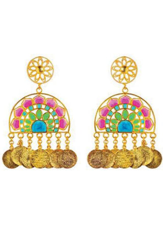 Jaipur Love Statement Earrings