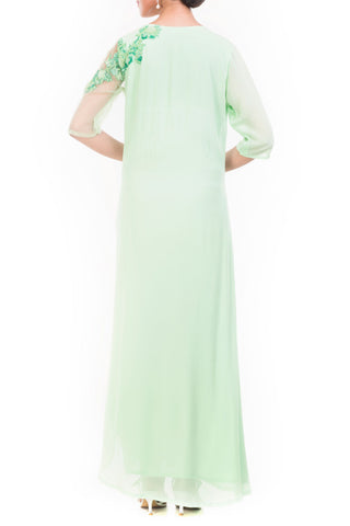 Mint Green Long Length Tunic