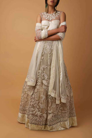 White Bird Top & Skirt Full