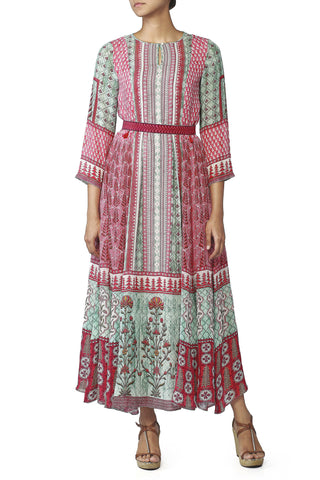 The Pink & Green Kate Middleton Dress
