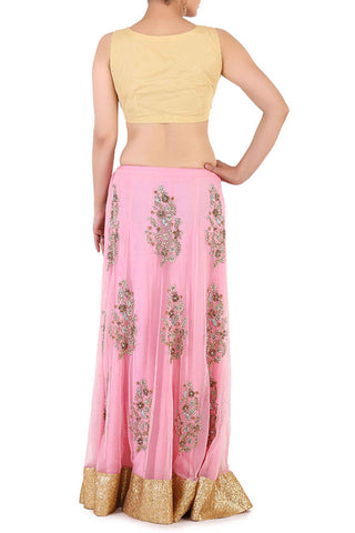 Pastel & Thread Work Lehenga