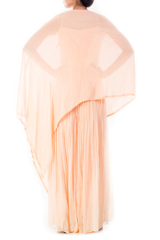 Creamsicle Jumpsuit & Cape