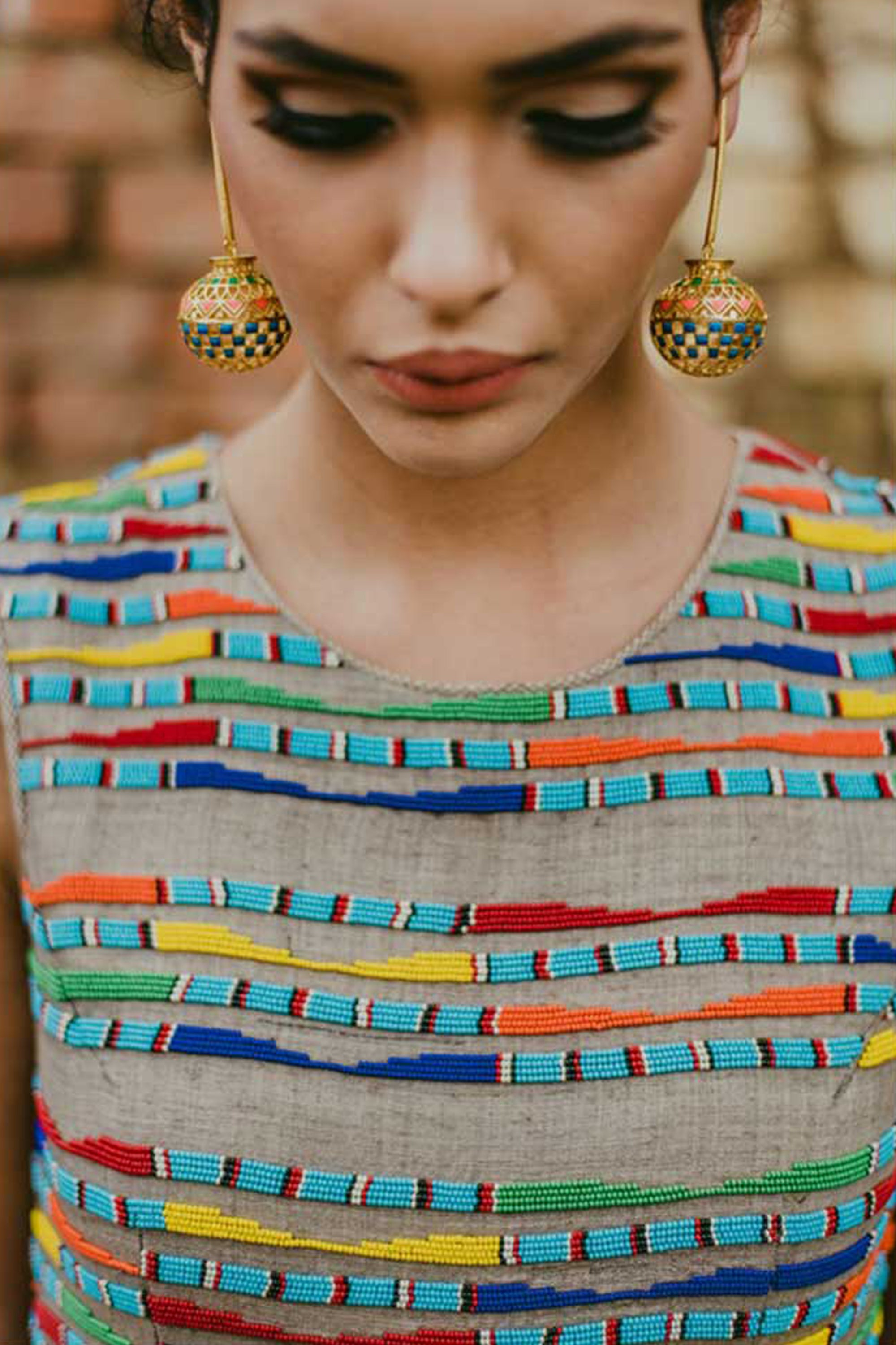 MATKA EARRINGS MODEL