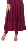Plum & Gold Kurta Skirt