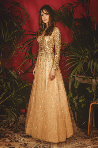 Gold La' Bilberry Gown
