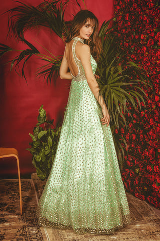 Mint Green La' Daisy Gown