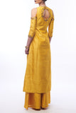 Amber Yellow Kurta & Palazzos Back