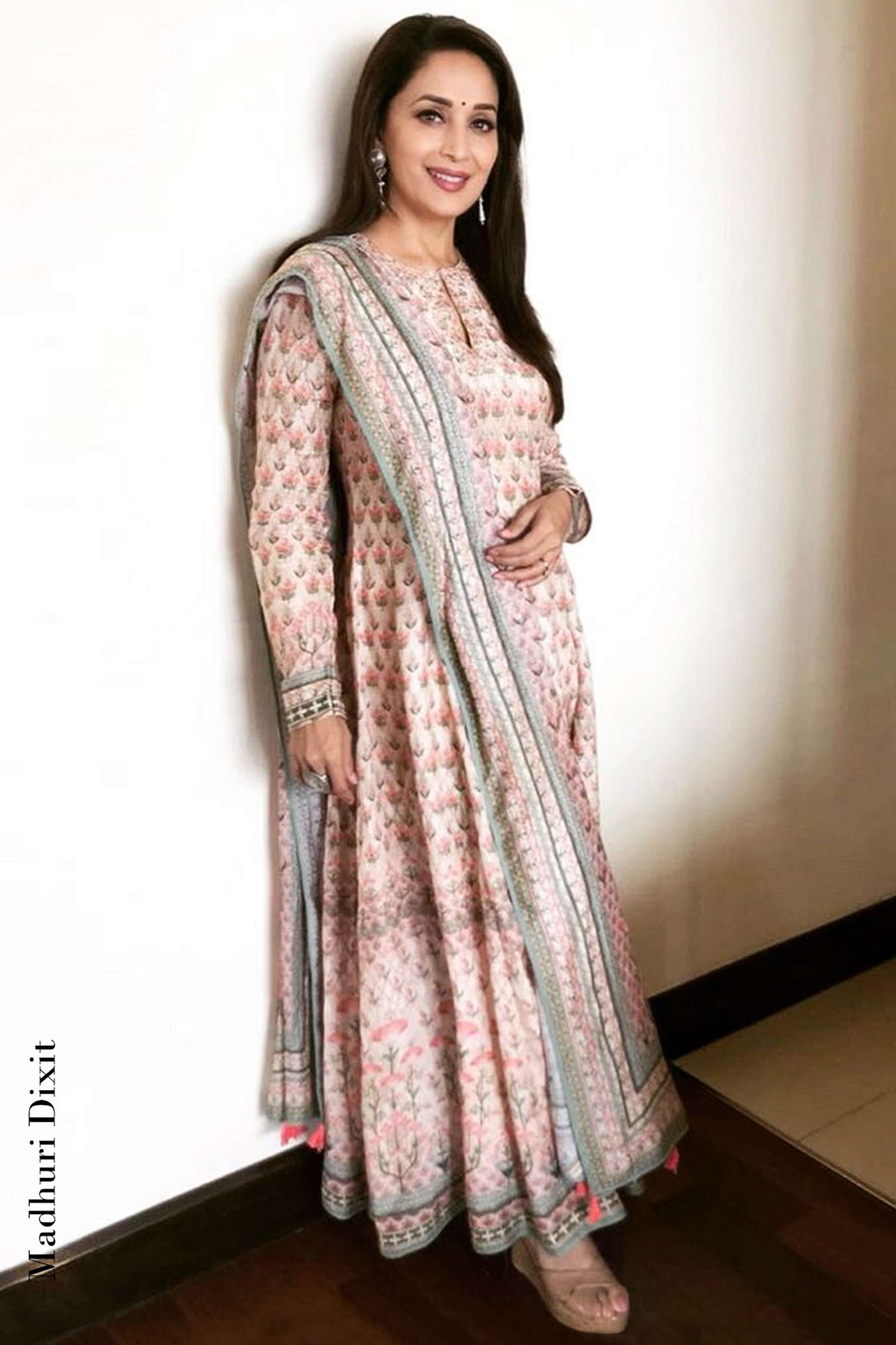 Pink Nivika Suit As seen On Madhuri