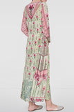 Floral Printed Gulzar Dress