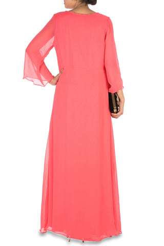Bright Peach Long Tunic