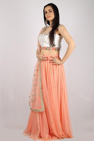 The Sophia Mogra Lehenga Set