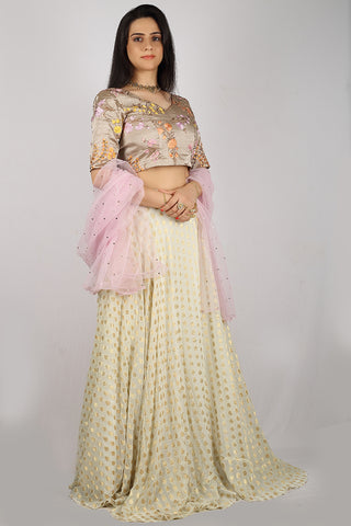 The Wildflower Lehenga Set Front