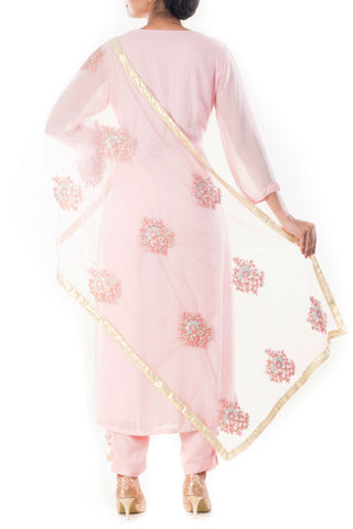 Carnation Pink Suit Set