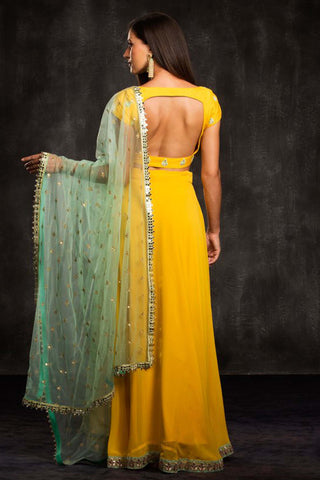 The Yellow Cabo Lehenga Set