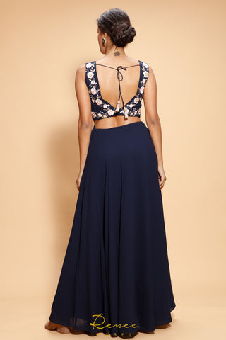 Navy Blue Estere Gown