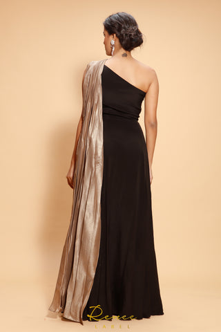 Black Caspara Gown