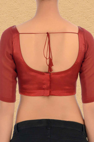 Lust Red Blouse