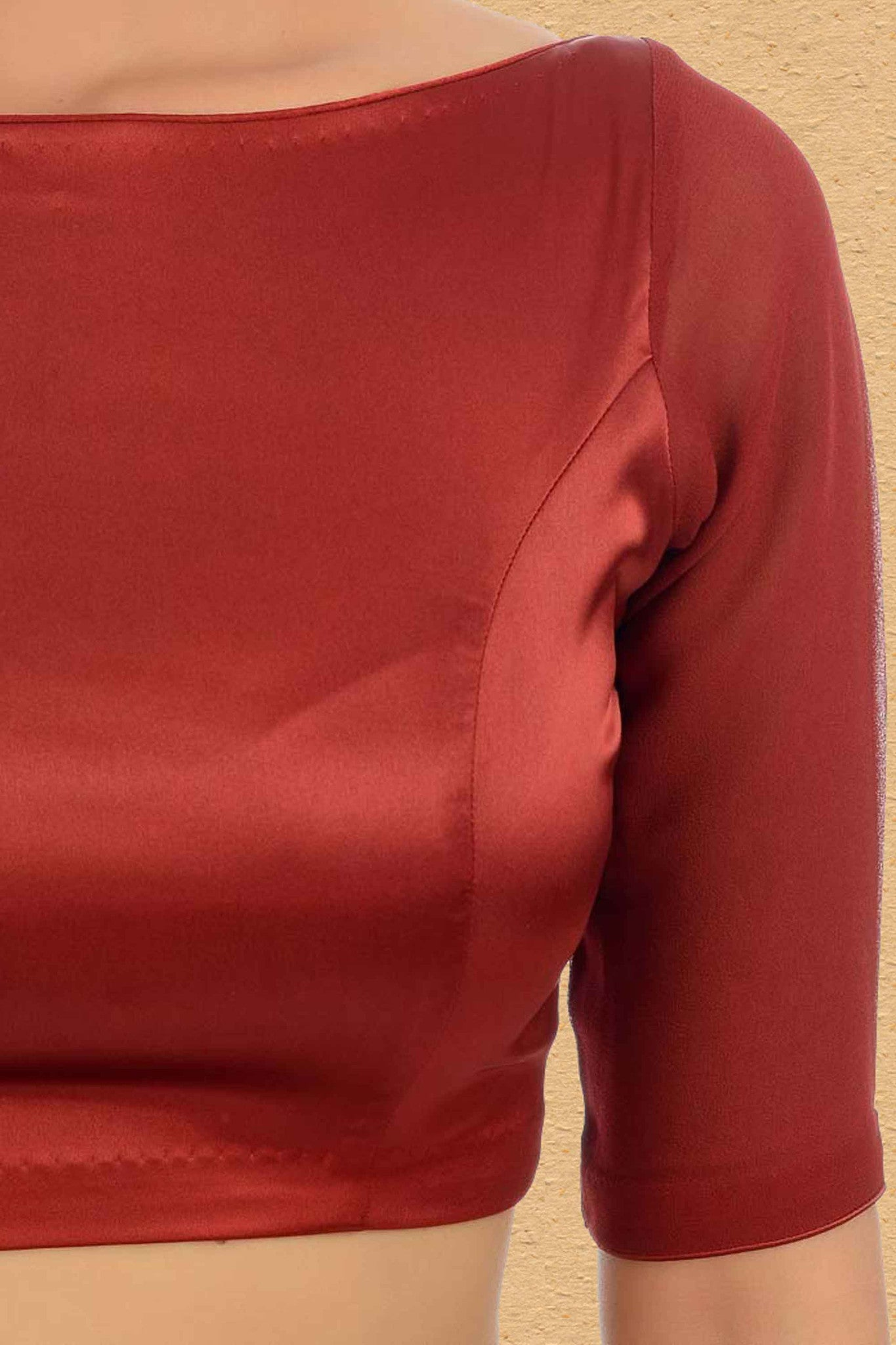 Lust Red Blouse CloseUp